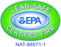 EPA Lead-Safe Certified Firm Logo, NAT 88571-1